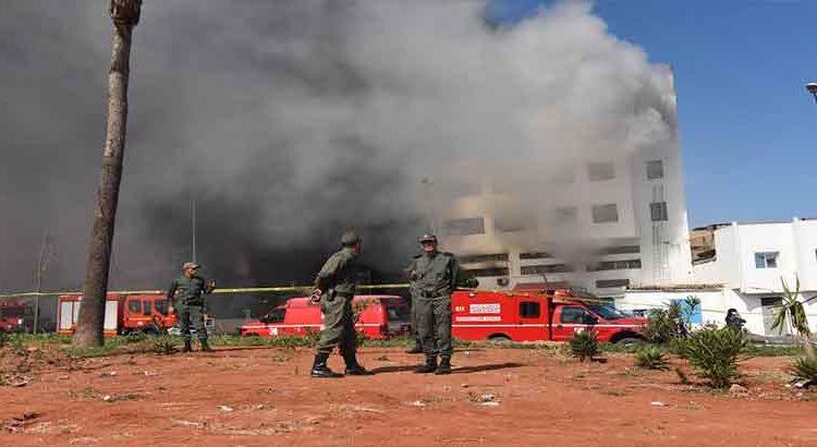 """حريق مهول يلتهم شركة متخصصة في صناعة """"الصابون"""" بالدارالبيضاء"""