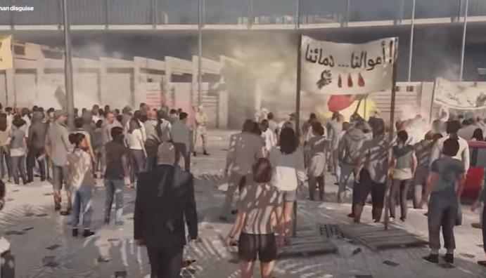 لعبة تصور ثورة وإحتجاجات أمام الثورة السويدية بالمغرب