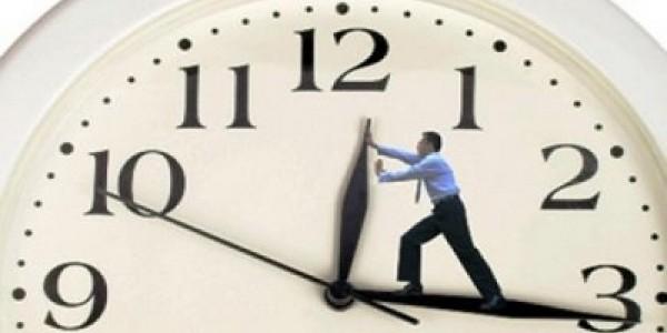 انتبهوا: عليكم بتغيير ساعتكم يوم الاحد