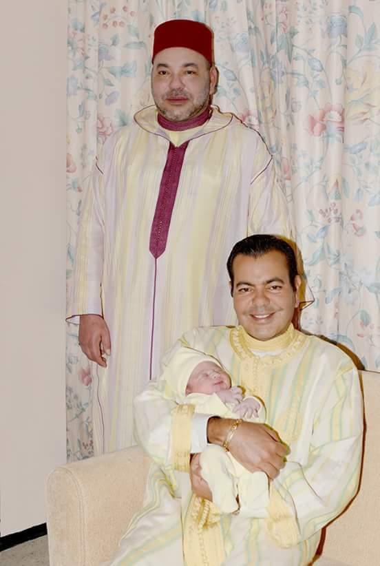 """الفيسبوكيون المغاربة يعبرون عن فرحتهم بالمولود الجديد الامير """"مولاي أحمد"""""""