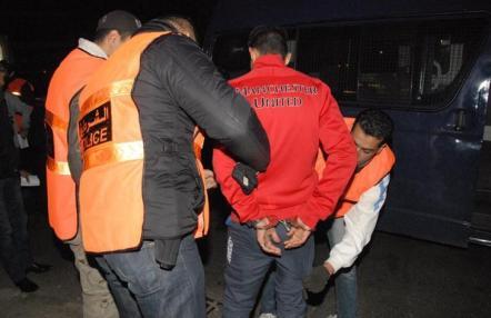 بوليسي بالخميسات يستعمل سلاحه لتوقيف مجرم يحمل سيفا