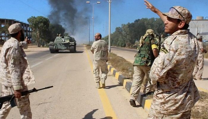 مقتل عشرة من قوات حكومة الوفاق الليبية في التفجير الانتحاري غرب سرت