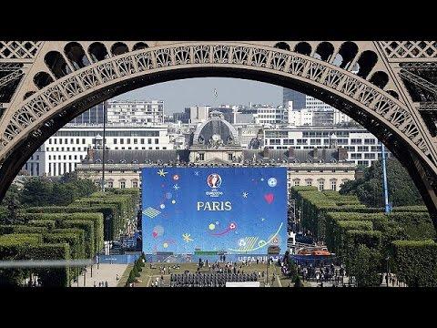 وصول المنتخبات المشاركة في اليورو 2016 بفرنسا