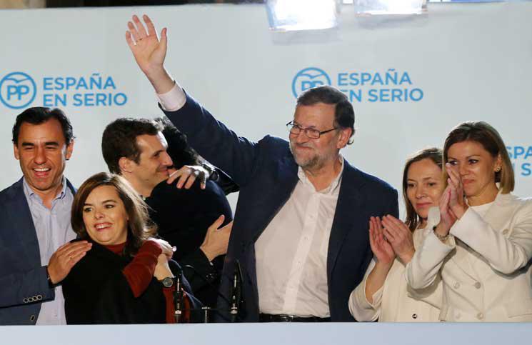 الحزب الشعبي يفوز بالانتخابات التشريعية الاسبانية