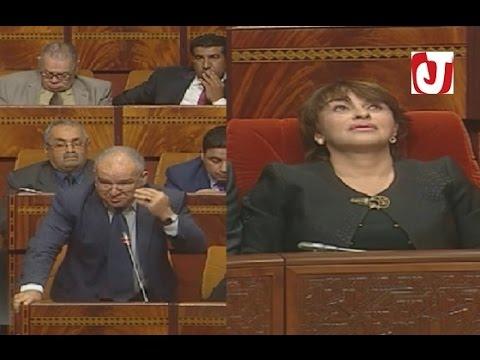حضور وزيرة البيئة يسكت مستشار من المعارضة احتج بشدة على غيابها