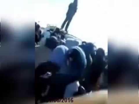 عاجل الصحراويون المحتجزين في مخيم العار ينتفضون ضد جنرلات الجزائر