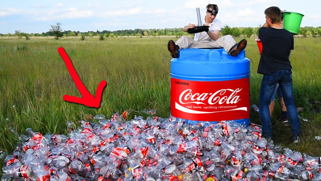 ماذا سيحدث إذا أضفنا كمية من الصودا إلى 1000 ليتر من الكولا؟