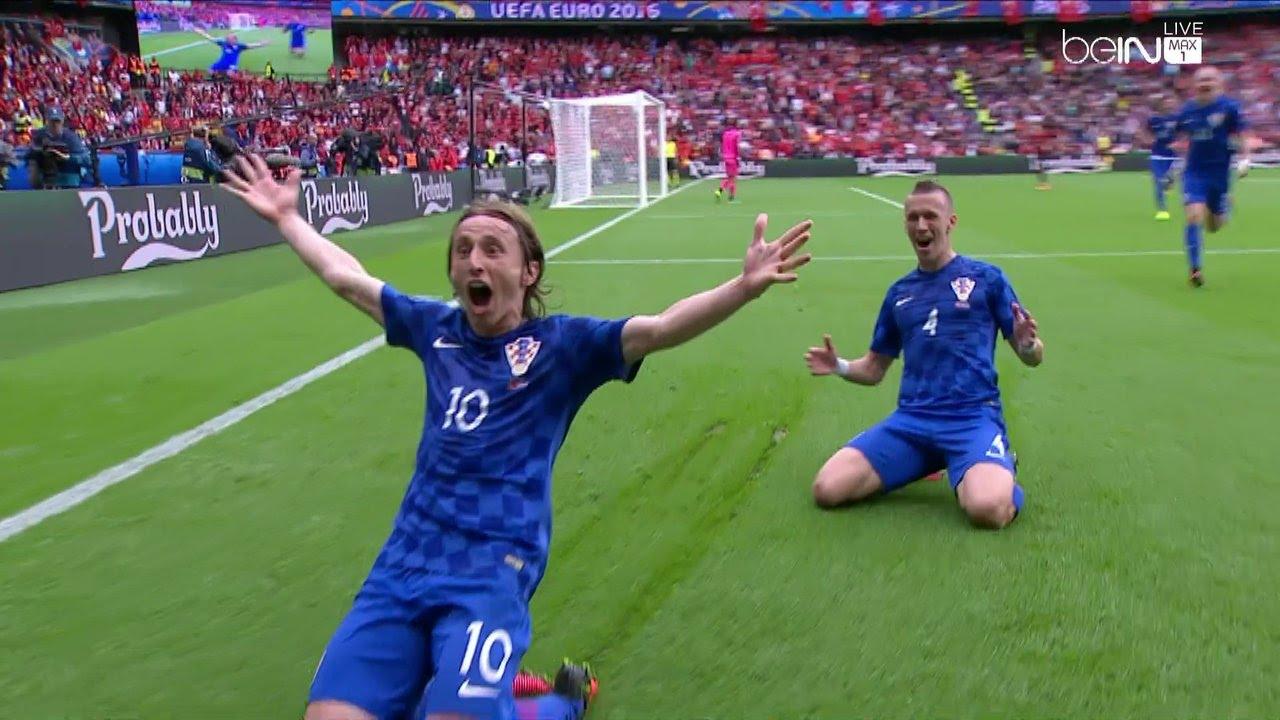 كرواتيا تهزم تركيا بهدف رائع للوكا مودريتش