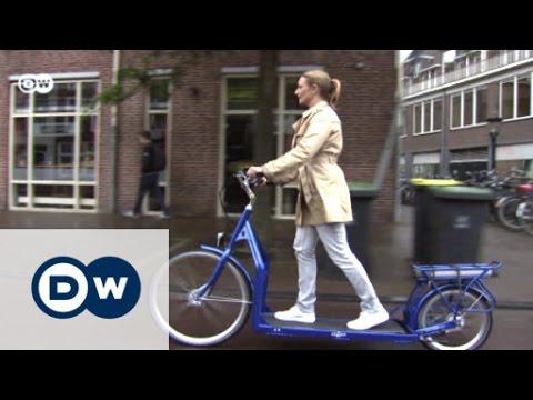 اكتشفوا أول دراجة للمشي في العالم!