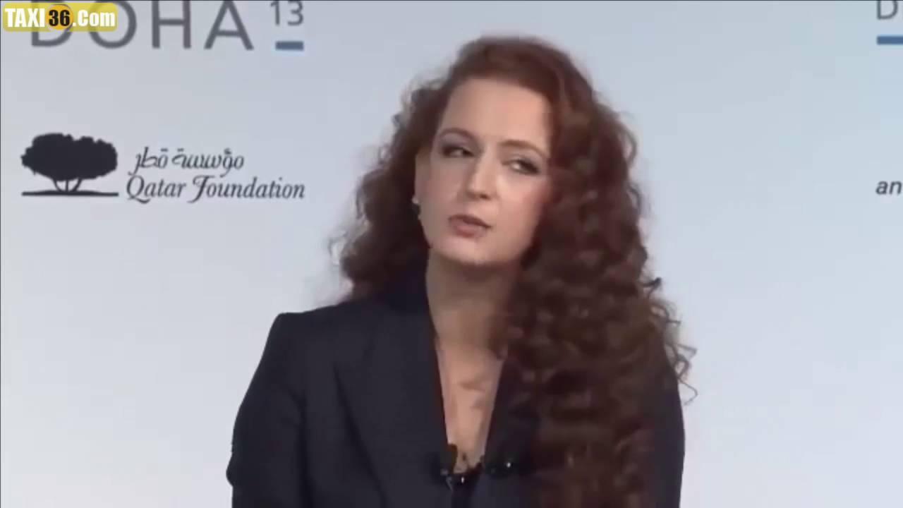 الأميرة لالة سلمى في مؤتمر دولي بدبي ترفض التكلم من غير اللغة العربية