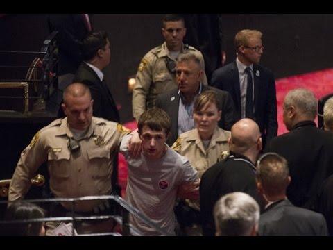 بالفيديو..لحظة محاولة اغتيال مرشح الرئاسة الأمريكية ترامب دونالد