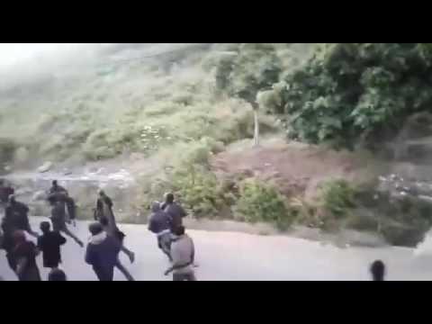هجوم مهاجرين أفارقة على قرية بليونش في محاولة للتسلل إلى سبتة المحتلة