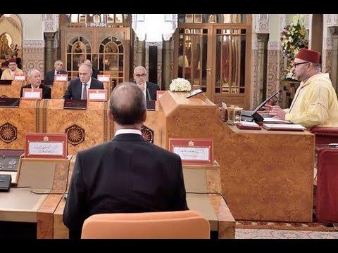 الملك يترأس مجلسا للوزراء بالقصر الملكي بالدار البيضاء
