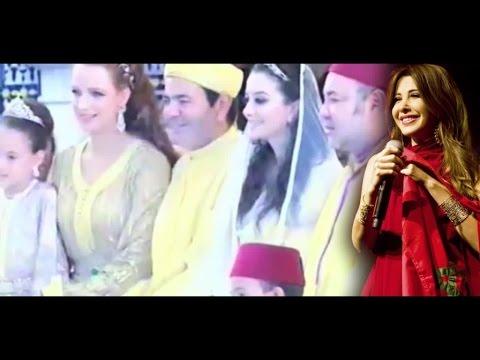 """نانسي عجرم تغني أغنية رائعة بمناسبة ازدياد الأمير """"مولاي احمد"""""""