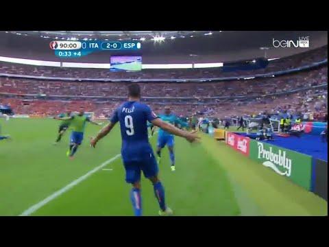 اهداف مباراة ايطاليا ضد اسبانيا