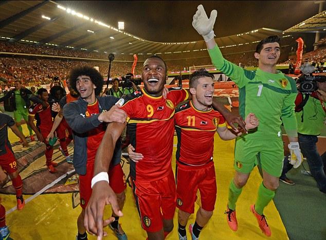 بلجيكا تتخطى دور المجموعات للمرة الاولى منذ 1980 والمباراة الاخيرة لايبرا