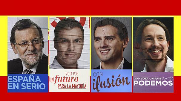 اسبانيا/انتخابات .. مناظرة تلفزيونية بين زعماء الأحزاب السياسية الأربعة الرئيسية