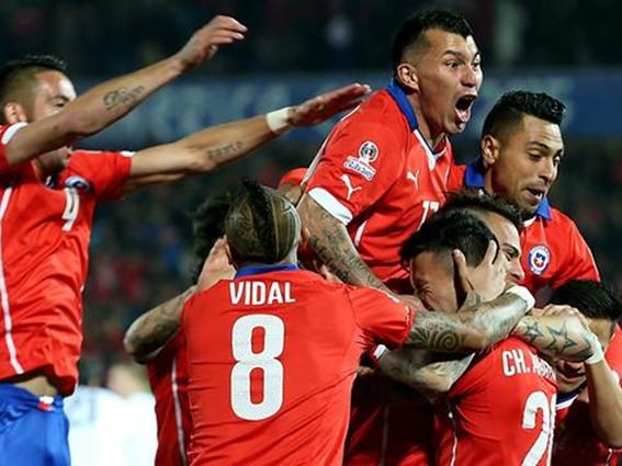 تشيلي تمطر شباك المكسيك بسباعية نظيفة و تتأهل الى المربع الذهبي من كوبا امريكا