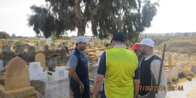"""سلا: جامع المعتصم """"يسطو"""" على ارض وهبها رجل الأعمال الراحل ميلود الشعبي للجماعة من أجل إنشاء مقبرة"""