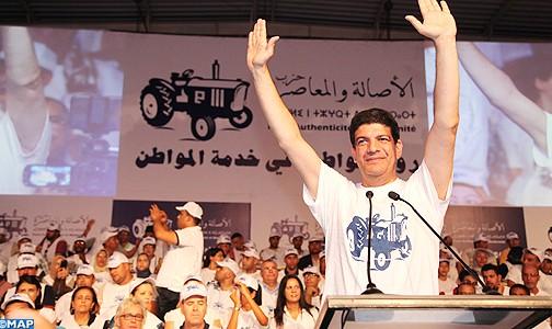 """فضيحة: رئيس جهة الدار البيضاء زعيم البام سابقا""""الباكوري"""" يتبرع بـ500مليون لفرقة موسيقية"""