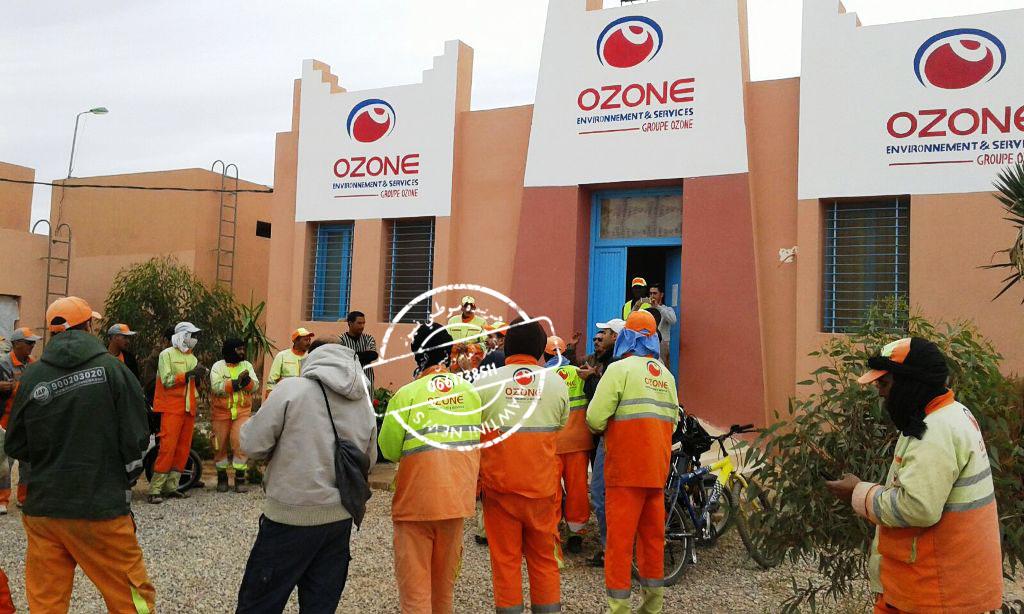 احتجاجات على شركة أوزون كليميم  ومطالب بتدخل وزارة الداخلية