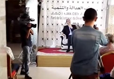 فضيحة: الوزير الرباح يحاضر أمام كراس فارغة بالصخيرات (فيديو)