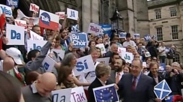 الاف يطالبون باستقلال لندن عن بريطانيا بعد الانفصال عن الاتحاد الاوروبي