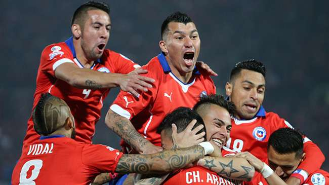 تشيلي تكرس العقدة للأرجنتين وتتوج بكأس كوبا أميركا للمرة الثانية