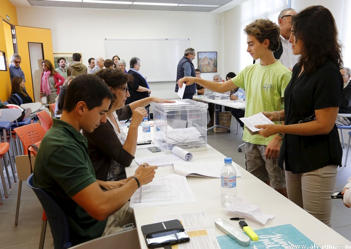 إسبانيا: نسبة المشاركة بلغت 36,87 بالمائة