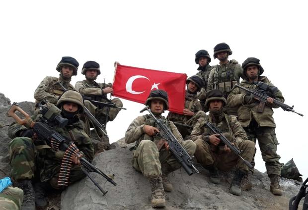 منح الحصانة للقوات المسلحة التركية المشاركة في عمليات مكافحة الإرهاب