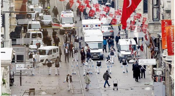 الارهاب يضرب من جديد السياحة التركية