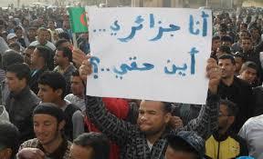 الجزائر تعيش مرحلة شبيهة بنهاية حسني مبارك وبنعلي ؟ في انتظار الثورة على الفقر والظلم