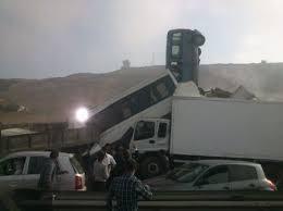 خطير: وفاة ثلاث سيدات بسلا بعد اصطدام شاحنة بسيارتين
