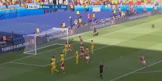 رومانيا تكتفي بالتعادل مع سويسرا 1-1