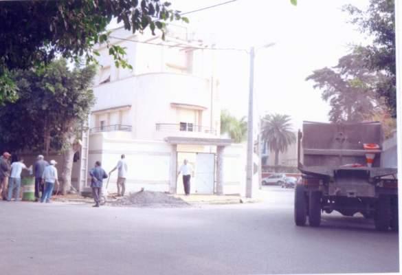 البناء العشوائي داخل مقر حزب رئيس الحكومة والداخلية تدخل على الخط لوقف خرق القانون