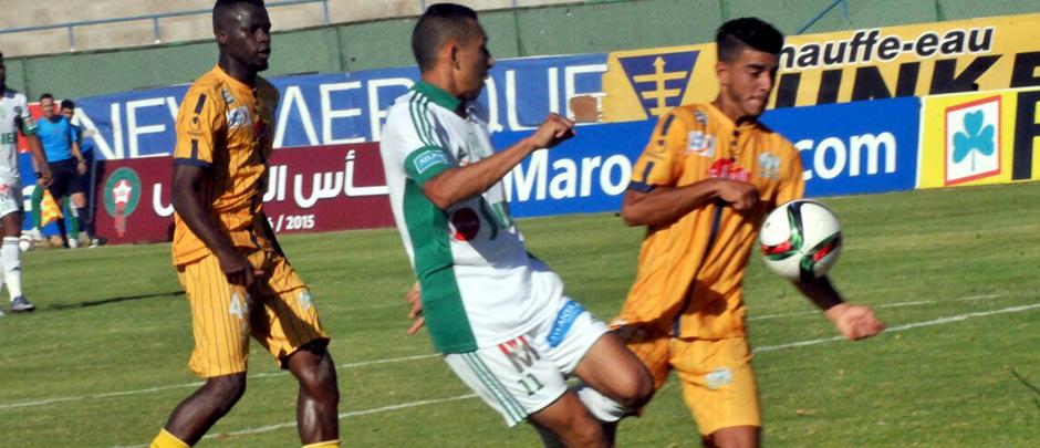 الرجاء البيضاوي مهدد بالعقوبة في بطولة كأس العرش