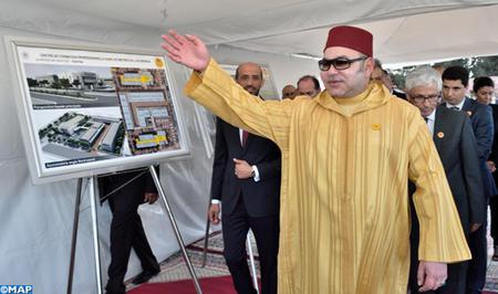 الملك يعطي انطلاقة البرنامج الجهوي السوسيو- طبي للقرب بجهة الدار البيضاء