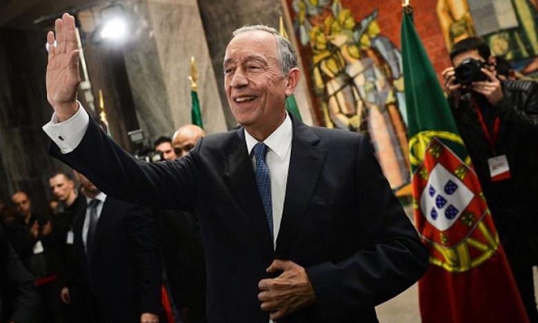 الرئيس البرتغالي يغادر المغرب