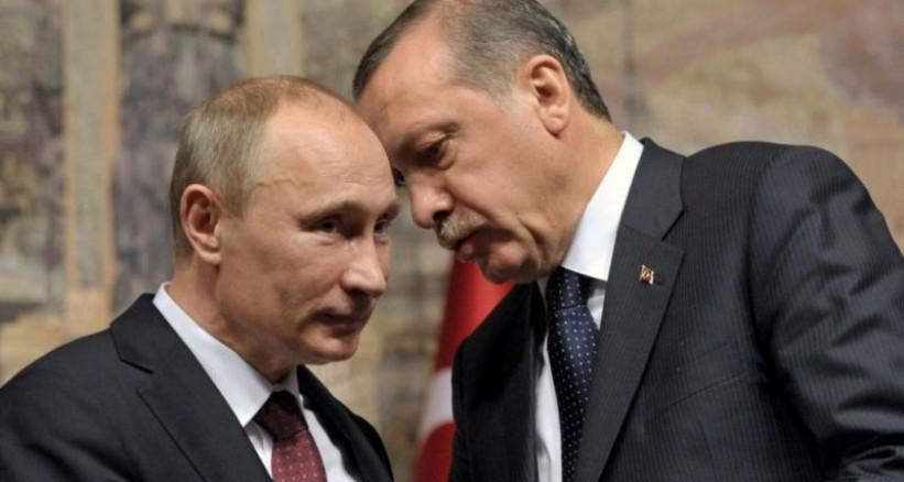 اردوغان يعتذر لبوتين عن مقتل الطيار الروسي