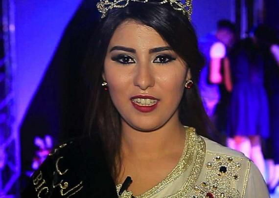 المغربية نجلاء العمراني تفوز بلقب ملكة حسناوات العرب في العالم 2016