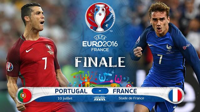 تابعوا…النقل المباشرة لنهائية كأس اوربا. فرنسا/ البرتغال