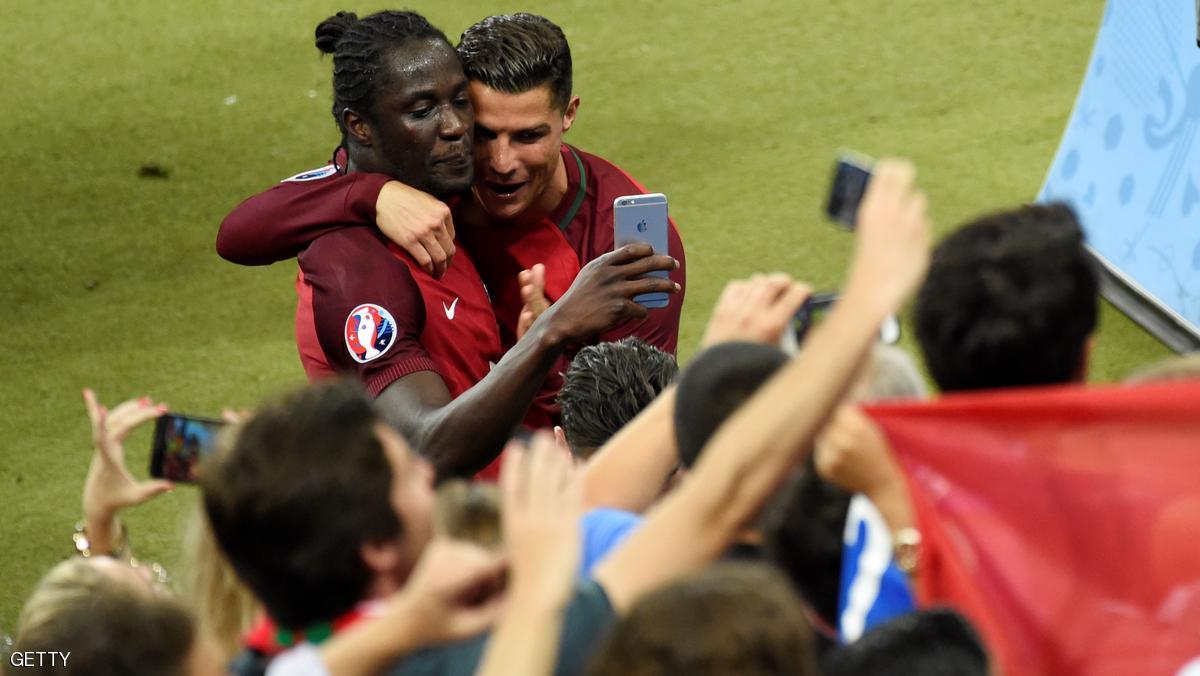 ايدر مهاجم البرتغال: رونالدو أخبرني أنني سأسجل هدف الفوز
