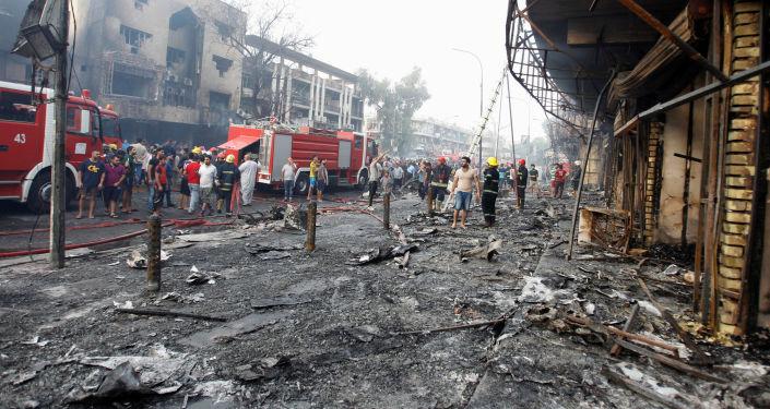 المملكة المغربية تعرب عن استنكارها و إدانتها الشديدة للتفجير الإرهابي الذي وقع بالعاصمة العراقية
