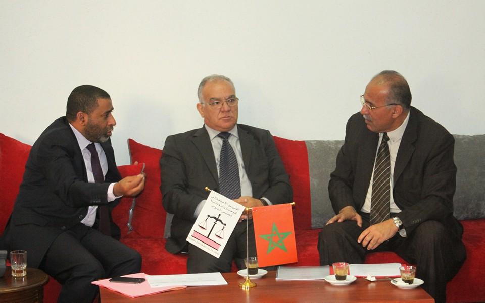 الفريق الاستقلالي بمجلس النواب يتدارس مع عبد المومني قضايا واشكالات مدونة التعاضد