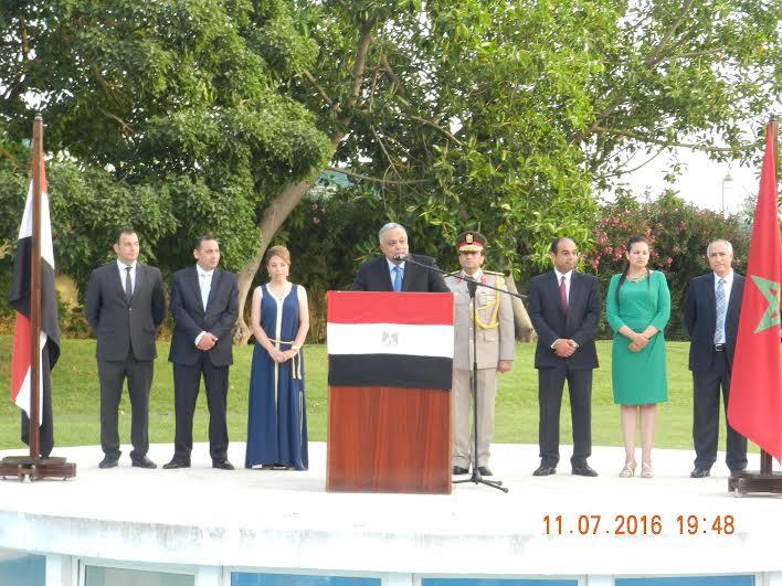 السفارة المصرية بالرباط تحتفل بالذكرى 64 لثورة يوليو