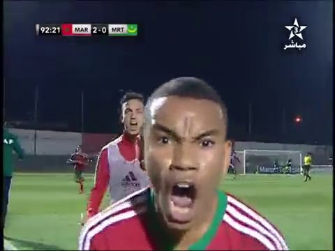 أهداف مباراة المغرب 2 – 0 موريتانيا أقل من 17 سنة