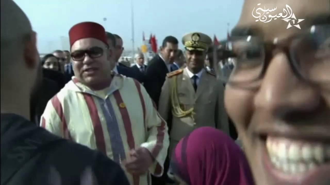 طنجاوي يلتقط سيلفي مع الملك محمد السادس