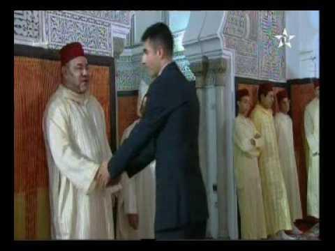 الملك محمد السادس يتقبل تهاني العيد