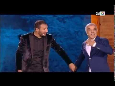 مهرجان مراكش للضحك : سكيتش عتيق بنشيكر و إيكو