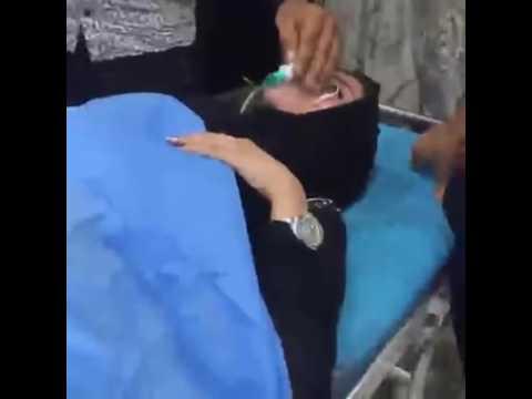 إصابة ملكة جمال العراق